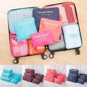 6 Pack Multi-Functional Travel Organizer Storage